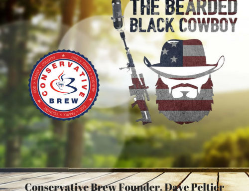 Conservative Brew Founder Interviewed by The Bearded Black Cowboy